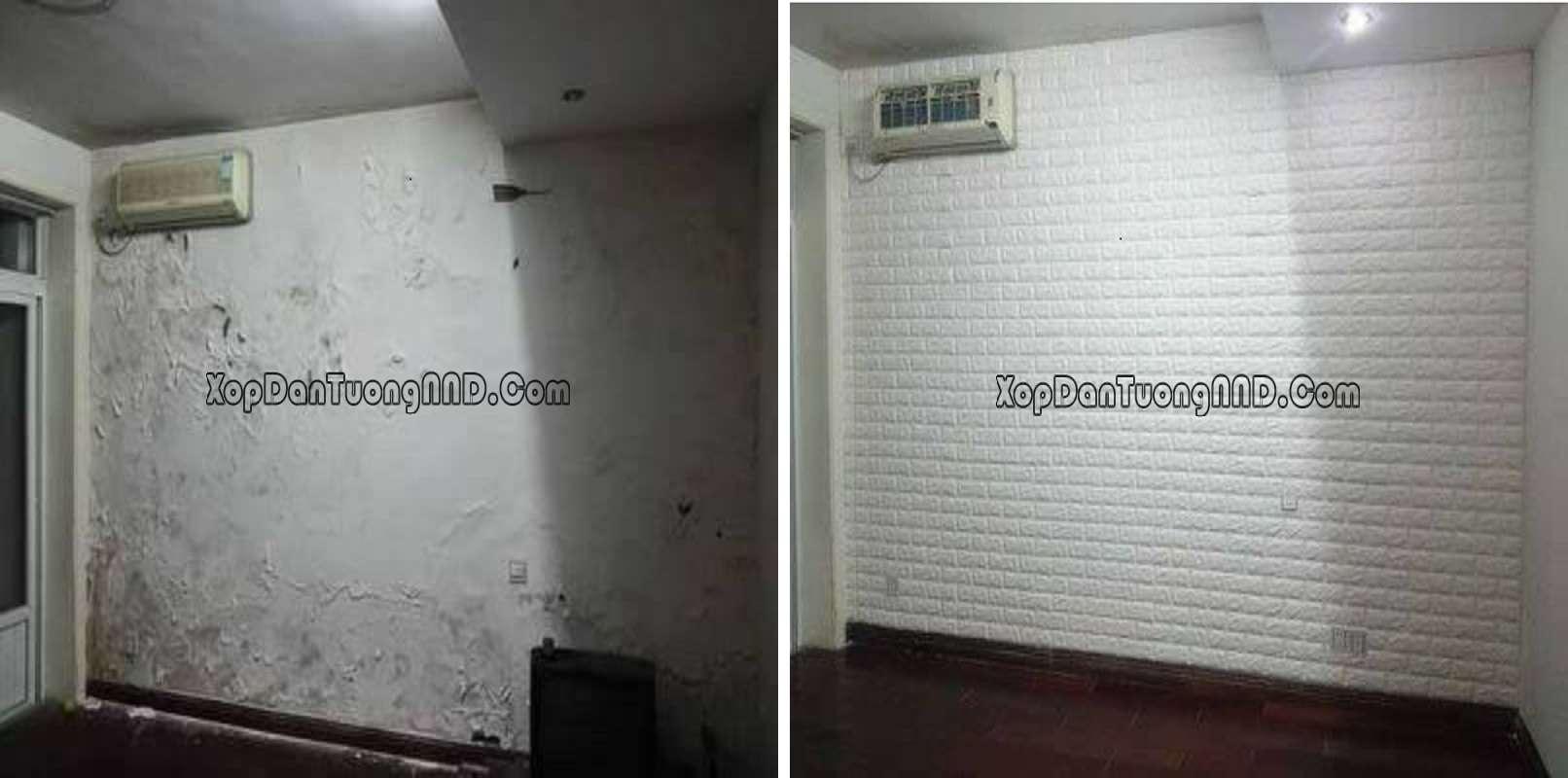 Xốp dán tường có khả năng kháng nước siêu phàm