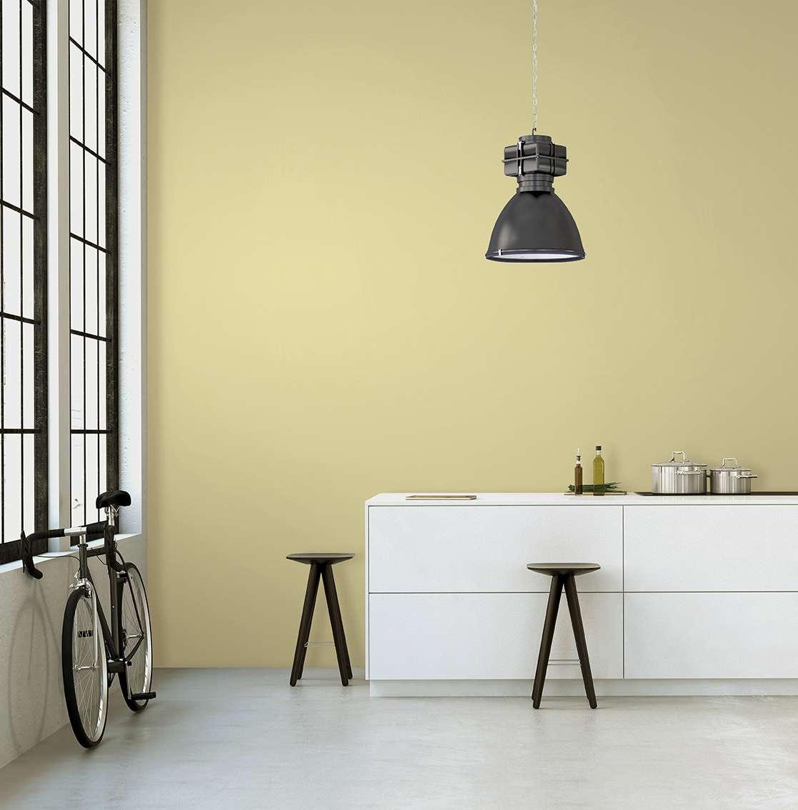 Màu vàng rêu cũng có thể coi là màu pastel