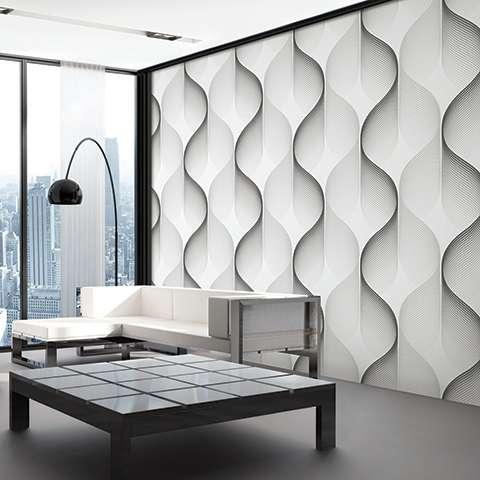 Giấy dán tường phòng chung cư đẹp