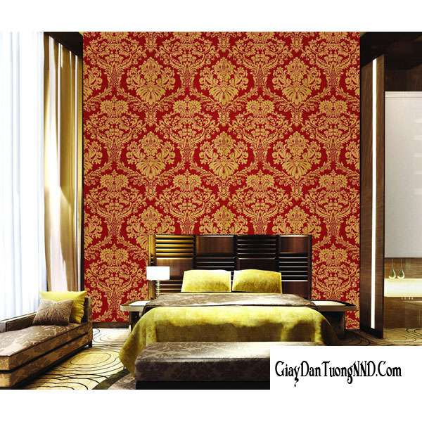 Giấy dán tường phòng ngủ cho vợ chồng