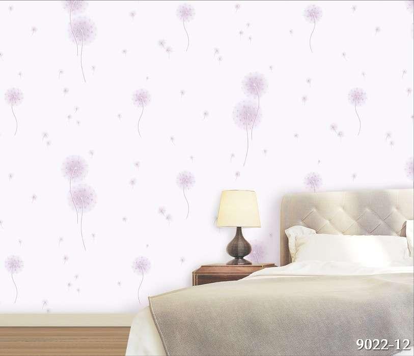 Trang trí phòng ngủ với giấy dán tường