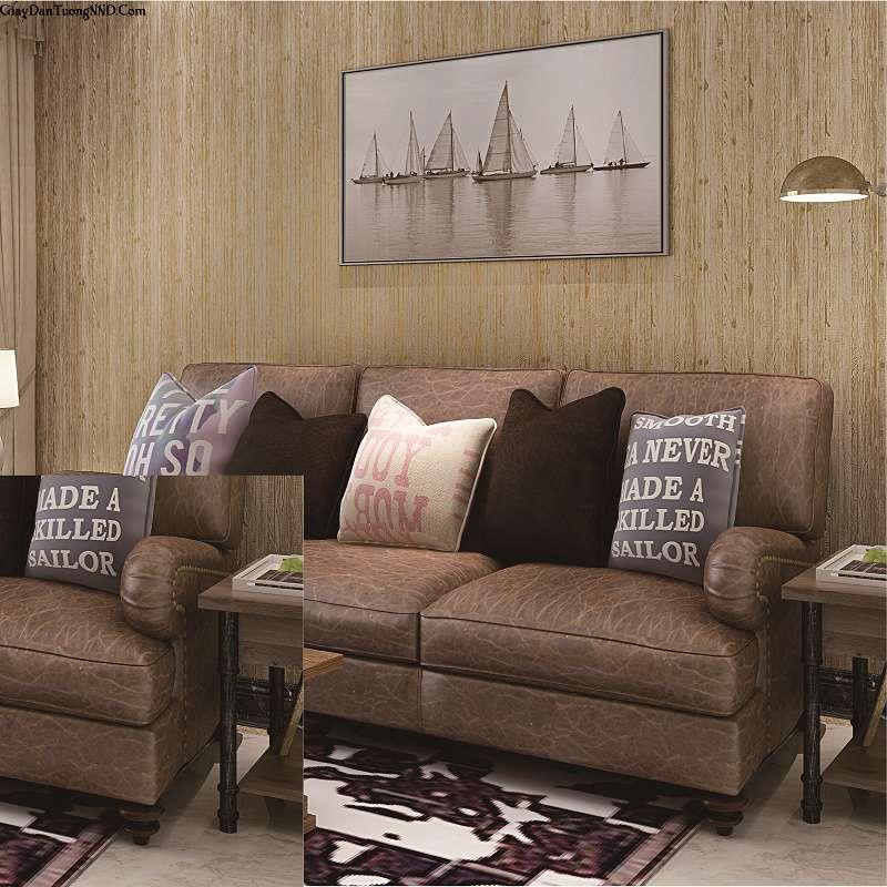 Giấy dán tường giả gỗ đang là xu thế được rất nhiều người tìm kiếm là lựa chọn thay cho gỗ ốp tường