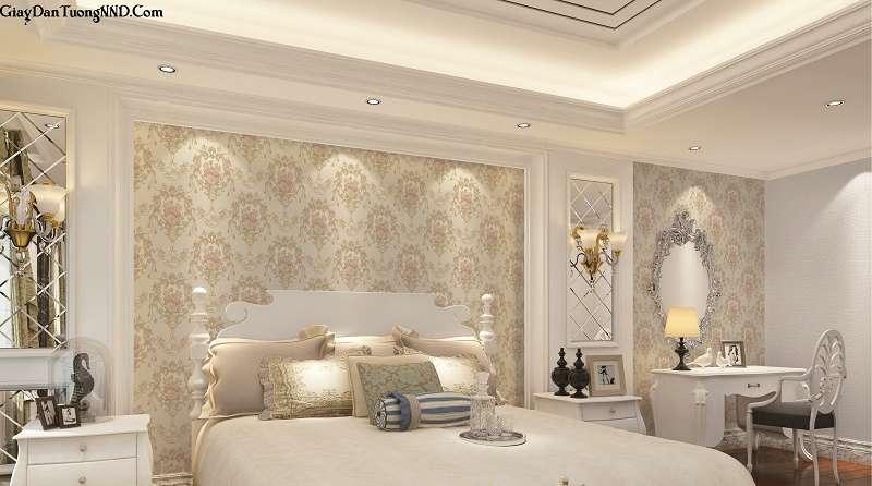 Tuyển tập các mẫu giấy dán tường đẹp nhất cho phòng ngủ