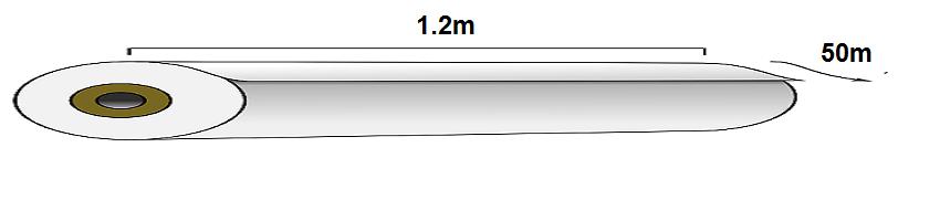 Giấy dán tường Trung Quốc có sẵn keo có kích thước cuộn là 1.2m x 50m = 60m2/cuộn