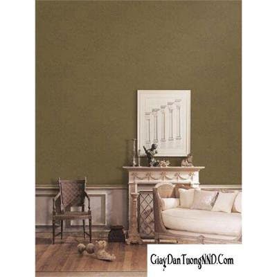 Giấy dán tường trơn màu trà mã 82351-5