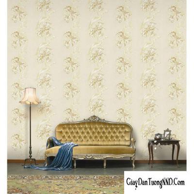 Giấy dán tường hình chùm hoa mã 82905-1
