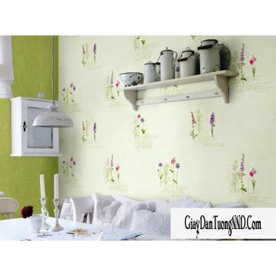 Giấy dán tường hình bó hoa mã 59151-3