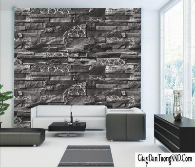 Giấy dán tường giả đá mã 87015-1