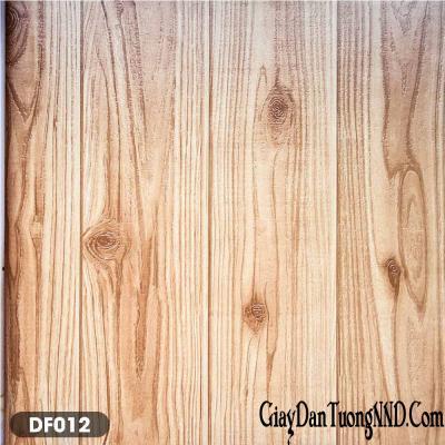 Giấy dán tường giả gỗ màu cánh dán mã DF012