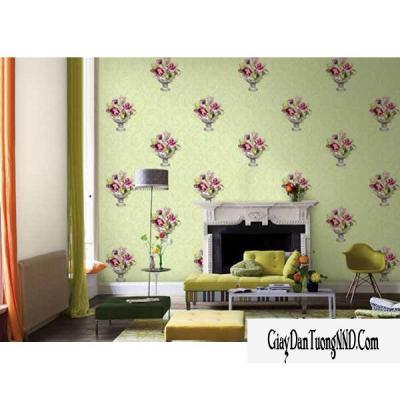 Giấy dán tường hình bình hoa mã: 59261-2