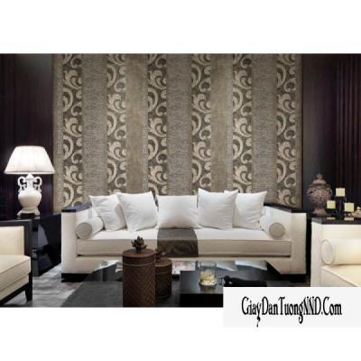 Giấy dán tường màu nâu trắng mã: 59265-2