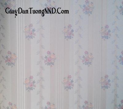 Giấy dán tường hình hoa hồng Trung Quốc giá rẻ mã 5021