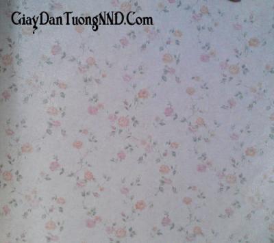 Giấy dán tường hình hoa nhỏ Trung Quốc giá rẻ mã 9015