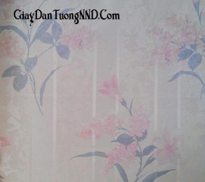 Giấy dán tường hình hoa to của Trung Quốc giá rẻ mã 9038