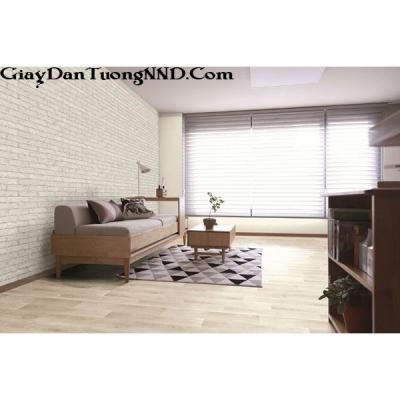 Giấy dán tường giả gạch trắng của Hàn Quốc Besti mã 82362-1