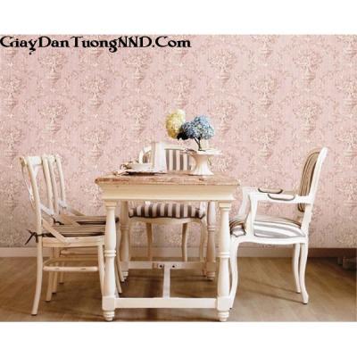 Giấy dán tường màu hồng Hàn Quốc Besti mã 82369-2
