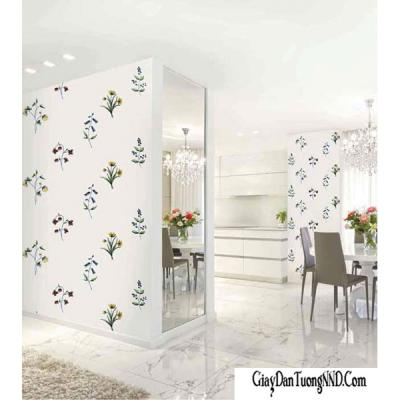 Giấy dán tường hoa rải rác mã 70125-1