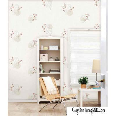 Giấy dán tường hình hoa mã 70105-2