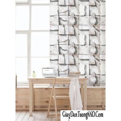 Giấy dán tường It space giả gỗ xếp tấm mã 87008-1