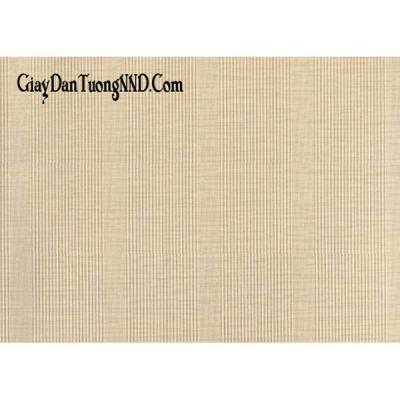 Giấy dán tường mẫu họa tiết kẻ sọc dọc màu lông gà mã cs9000
