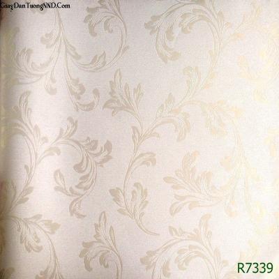 Giấy dán tường nhẹ nhàng nhã nhặn mã R7139