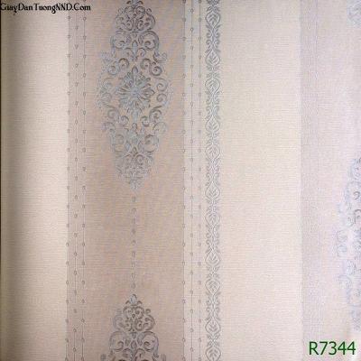 Giấy dán tường họa tiết nối nhau mã R7344