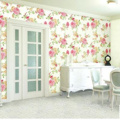 Giấy dán tường hình bông hoa to mã 88054-2