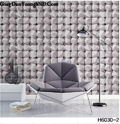 Giấy dán tường giả đá viên Hàn Quốc Hera mã H6030-2
