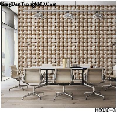 Giấy dán tường  hình viên đá mã H6030-3