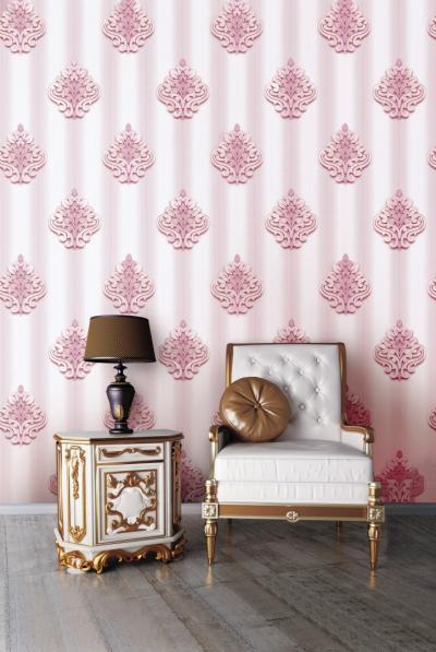 Giấy dán tường màu hồng mã 83048-4