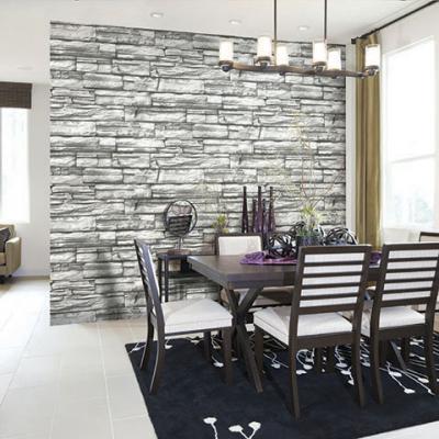 Giấy dán tường giả đá xếp chồng nhau mã 2558-3 là mẫu Hàn Quốc Casabene