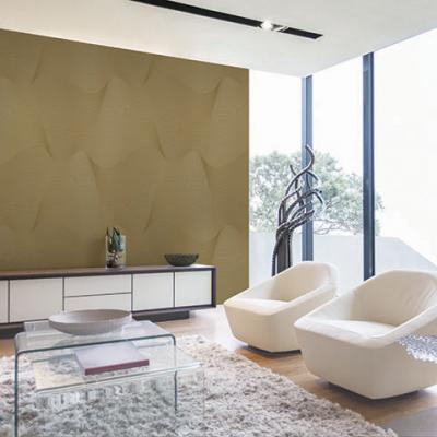 Giấy dán tường màu nâu sóng sánh mã 2560-4 là mẫu Hàn Quốc Casabene