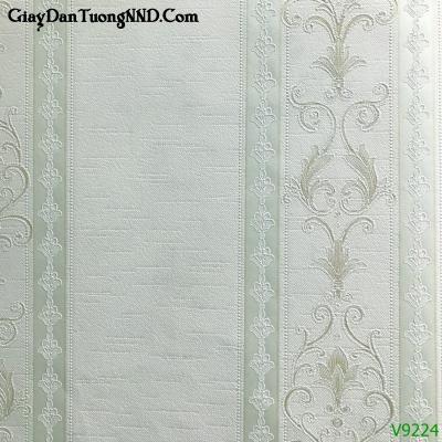 Giấy dán tường vân sọc cổ điển Ý mã V9224 thuộc danh mục Giấy dán tường Ý
