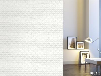 Giấy dán tường  giả gạch trắng mã 9803-1