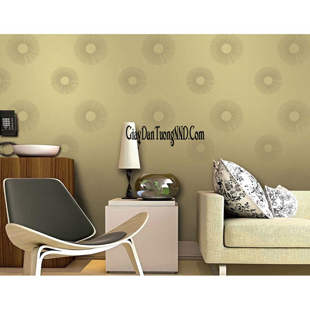 giấy dán tường phòng khách cho nhà chung cư