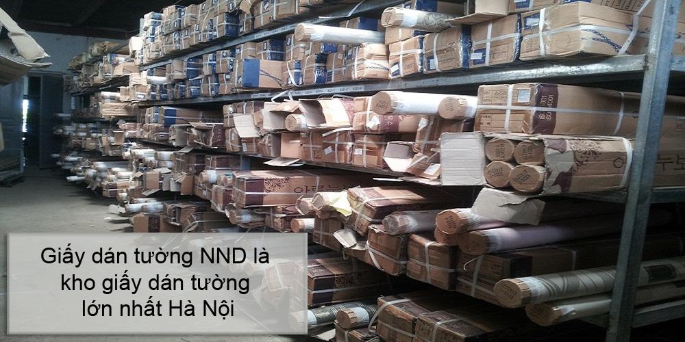 Kho giấy dán tường NND đơn vị thi công giấy dán tường uy tín nhất Hà Nội