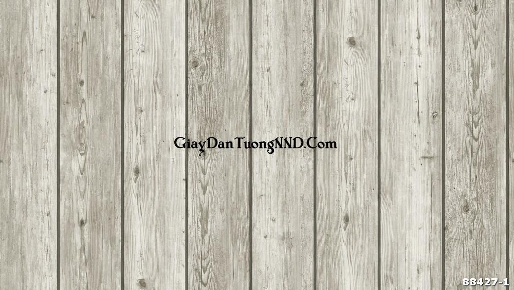 Giấy dán tường giả thanh gỗ xếp dọc là kiểu mẫu thông dụng nhất trong nhóm giả gỗ và đây cũng được coi là mẫu giấy dán tường vân gỗ đẹp nhất