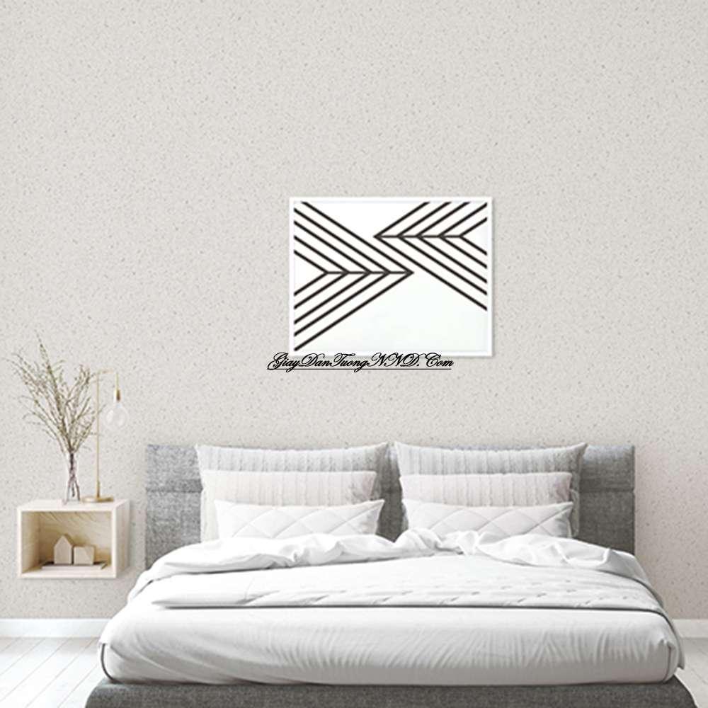 Các mẫu giấy dán tường đơn giản thường gắn liền với thiết kế nội thất hiện đại