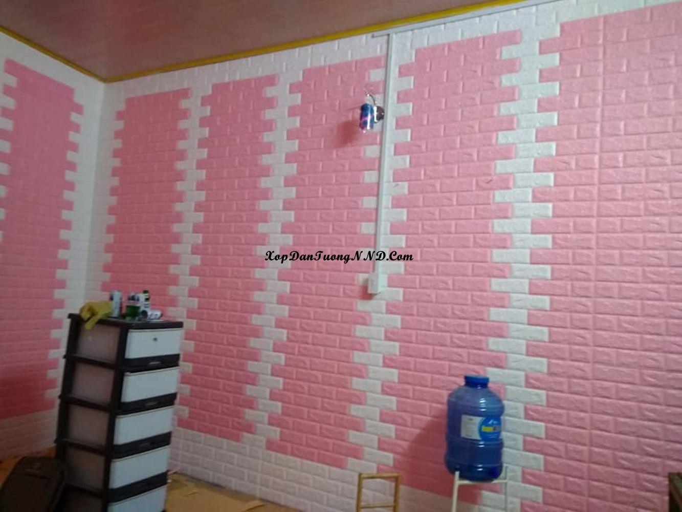 Trang Trí Phòng Ngủ Bằng Xốp Dán Tường đẹp